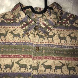 Woolrich Shirts - Vintage Woolrich Elk shirt